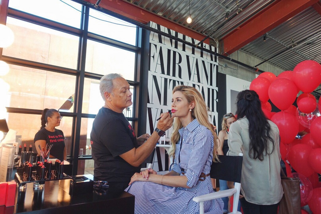 shiseido, platform la, vanity fair magazine, los angeles, la, hollywood, travel, cooking, kitchen, trishas kitchen, vanity fair social club, burning up, red lips, makeup , beauty, fashion, style, vanity fair, trisha yearwood, michael kors, manolo, louis vuitton, spoilt bitch club, blogger, influencer, brittany mason